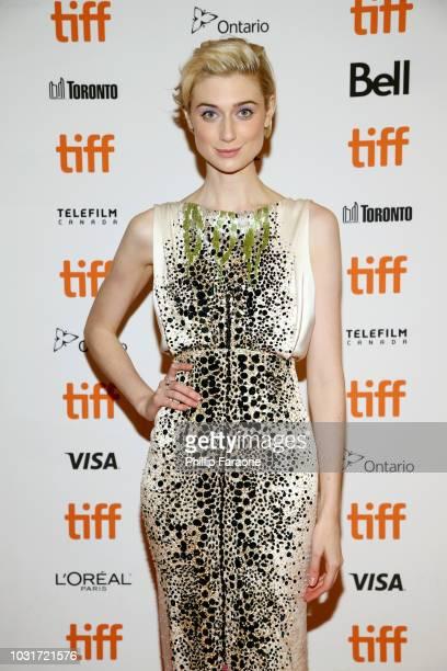 Elizabeth Debicki attends the 'Vita Virginia' premiere during 2018 Toronto International Film Festival at Winter Garden Theatre on September 11 2018...