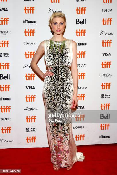 Elizabeth Debicki attends the 'Vita Virginia' premiere during 2018 Toronto International Film Festival at Winter Garden Theatre on September 11 2018...