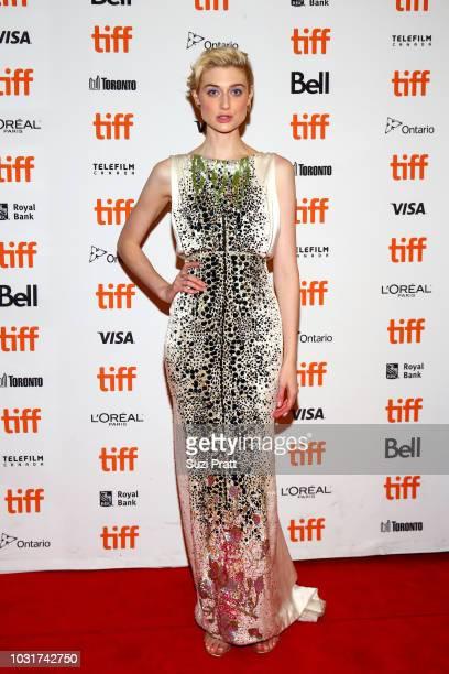 Elizabeth Debicki attends the Vita Virginia premiere during 2018 Toronto International Film Festival at Winter Garden Theatre on September 11 2018 in...