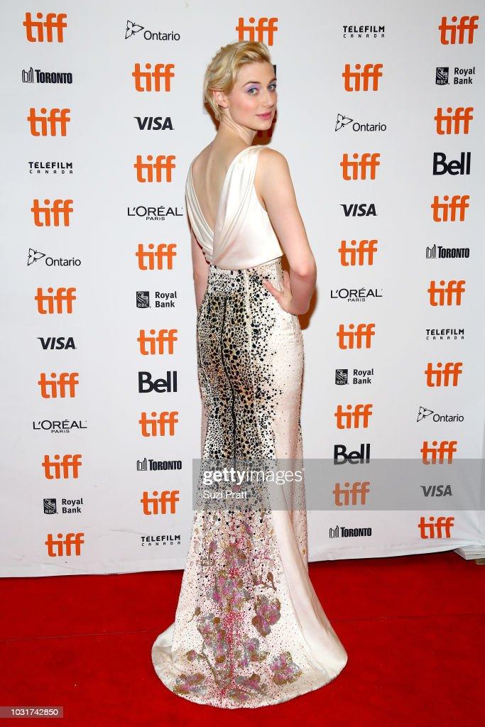 Elizabeth Debicki attends the 'Vita & Virginia' premiere during 2018 Toronto International Film Festival at Winter Garden Theatre on September 11, 2018 in Toronto, Canada.