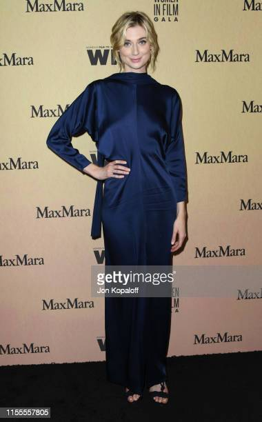 Elizabeth Debicki attends Women In Film Annual Gala 2019 Presented By Max Mara at The Beverly Hilton Hotel on June 12 2019 in Beverly Hills California
