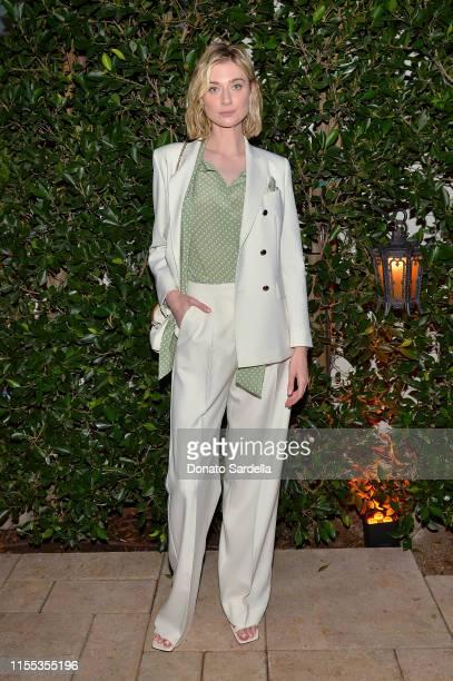 Elizabeth Debicki wearing Max Mara attend the 2019 Women In Film Max Mara Face Of The Future celebrating Elizabeth Debicki at Chateau Marmont on June...