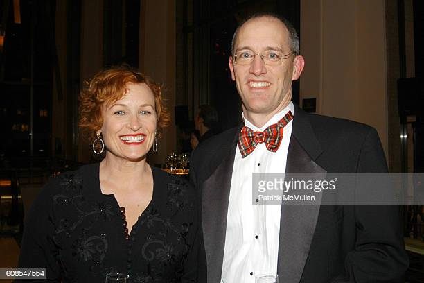 Elizabeth Dennehy and Richard Basile attend My Fair Lady NY Philharmonic Benefit Gala at Lincoln Center on March 7 2007 in New York City