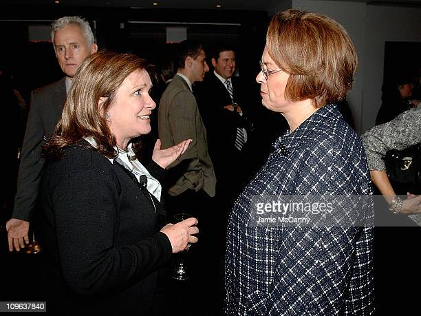 Elizabeth Edwards and Ann Moore, Chairman and CEO of Time Inc. Attend TIME's Person of the Year Luncheon at Time & Life Building on November 13, 2008...