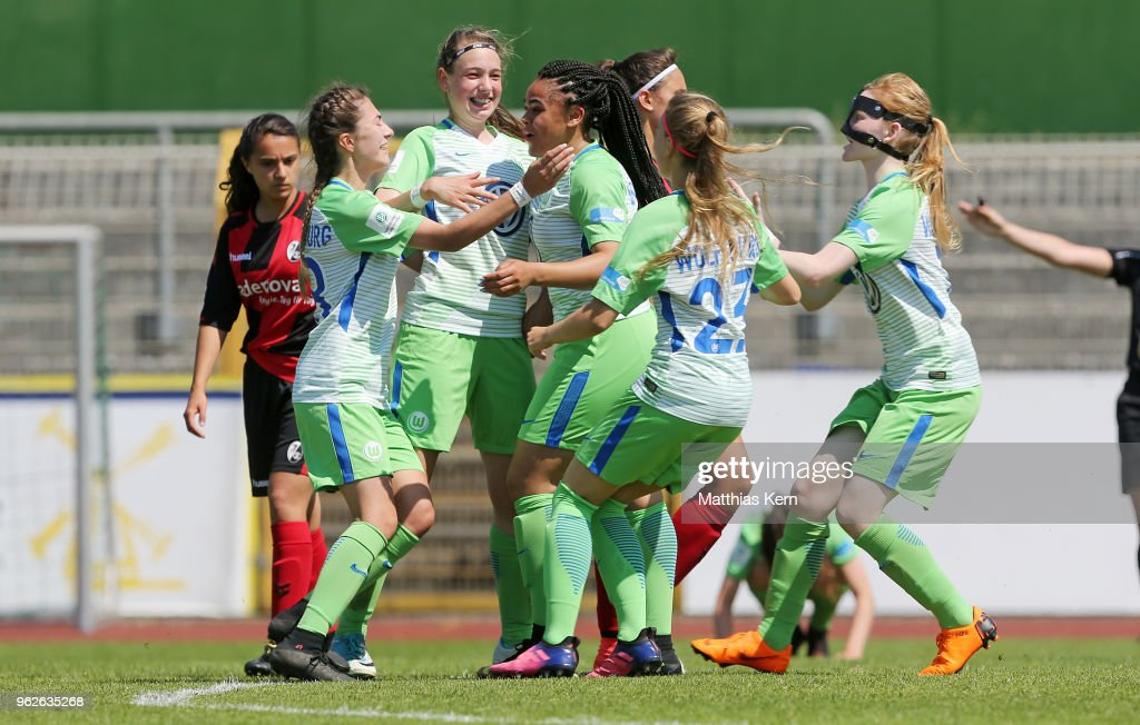 VfL Wolfsburg U17 Girl's v SC Freiburg U17 Girl's - Germany U17 Girl's Championship