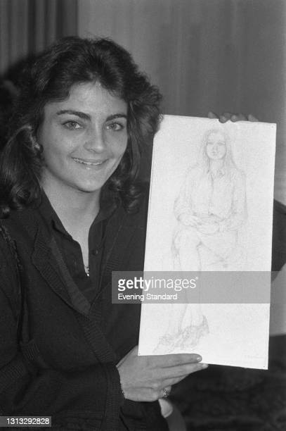 Elizabeth Frances 'Liza' Todd Burton, the daughter of actress Elizabeth Taylor and producer Mike Todd, UK, 21st November 1973.
