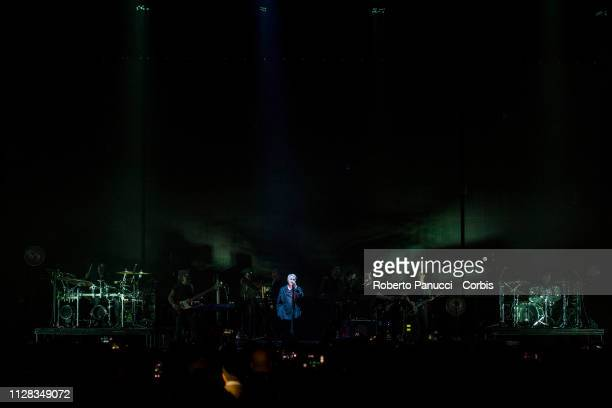 Elizabeth Fraser of the Massive Attack performs on stage at Palalottomatica on February 8 2019 in Rome Italy