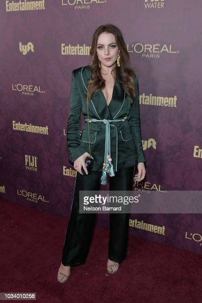 Elizabeth Gillies attends the 2018 PreEmmy Party hosted by Entertainment Weekly and L'Oreal Paris at Sunset Tower on September 15 2018 in Los Angeles...