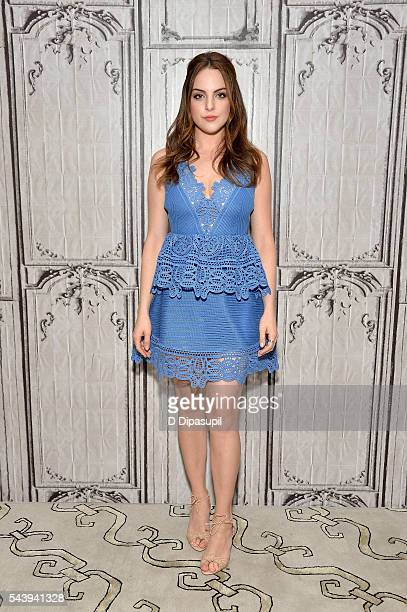 Elizabeth Gillies attends the AOL Build Speaker Series to discuss her FX show 'SexDrugsRockRoll' at AOL Studios In New York on June 30 2016 in New...