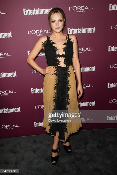 Elizabeth Gillies attends the Entertainment Weekly's 2017 PreEmmy Party at the Sunset Tower Hotel on September 15 2017 in West Hollywood California