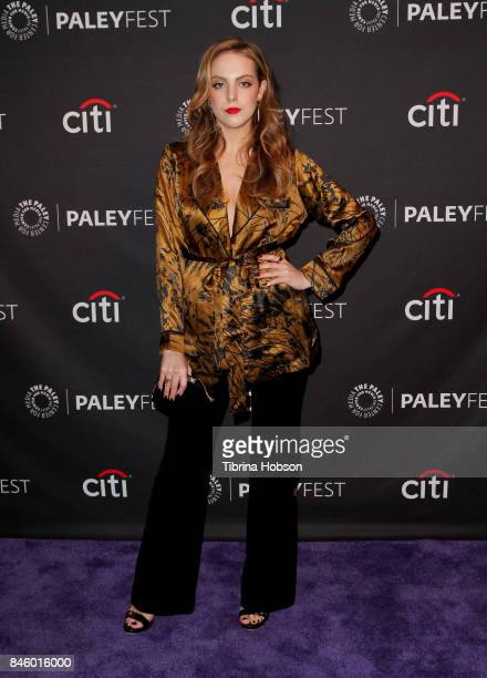 Elizabeth Gillies attends The Paley Center for Media's 11th annual PaleyFest Fall TV Previews for The CW at The Paley Center for Media on September 9...