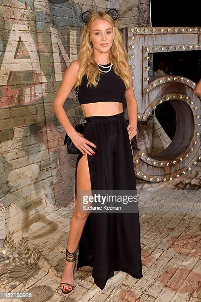 Elizabeth Gilpin attends the CHANEL Dinner Celebrating N°5 THE FILM by Baz Luhrmann on October 13 2014 in New York City