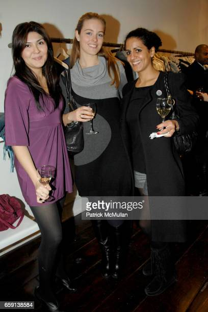 Elizabeth Gonzalez Diane Bollen and Sanae Knowles attend JEROME DREYFUSS Fall/Winter 2009 Collection at LUDIVINE Uptown at Boutique Ludivine on...