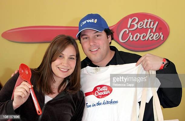 Elizabeth Grunberg and Greg Grunberg at General Mills