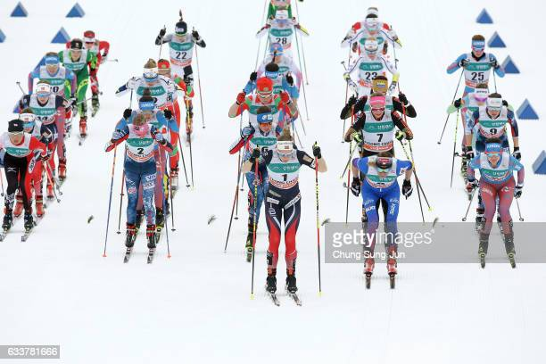 Elizabeth Guiney of United States Masako Ishida of Japan Caitlin Patterson of United States Justyna Kowalczyk of Poland Silje Oeyre Slind of Norway...