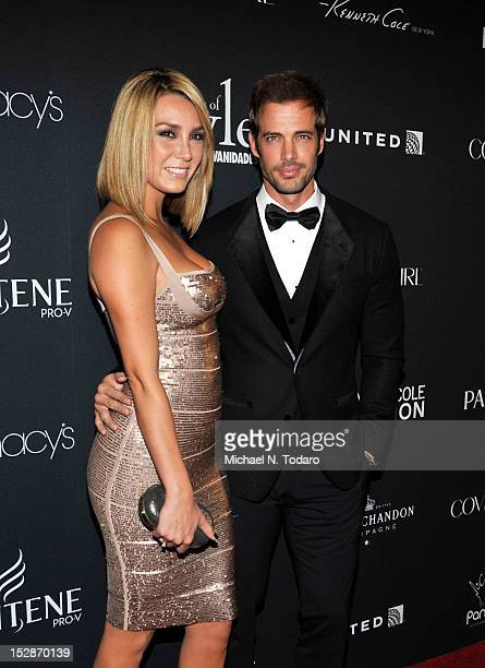 Elizabeth Gutierrez and William Levy attend Vanidades 2012 Icons of Style Gala at the Mandarin Oriental Hotel on September 27 2012 in New York City