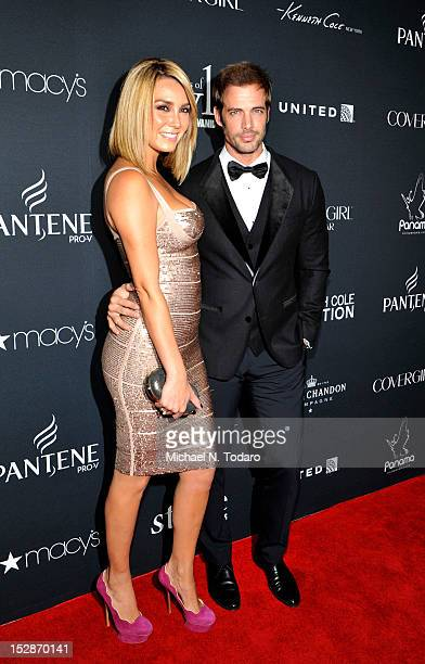 Elizabeth Gutierrez and William Levy attend Vanidades 2012 Icons of Style Gala at the Mandarin Oriental Hotel on September 27, 2012 in New York City.