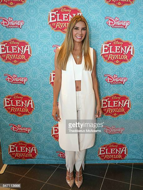 Elizabeth Gutierrez attends Disney's Elena of Avalor Miami Screening Red Carpet>> at Regal South Beach on July 13 2016 in Miami Florida