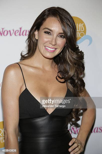 Elizabeth Gutierrez attends the 'Estrellas de Verano' the TV Y Novelas Event at The Bath Club on August 19, 2014 in Miami, Florida.
