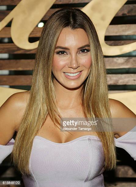 Elizabeth Gutierrez is seen at a private dinner hosted by TVyNovelas on October 19 2016 in Miami Florida
