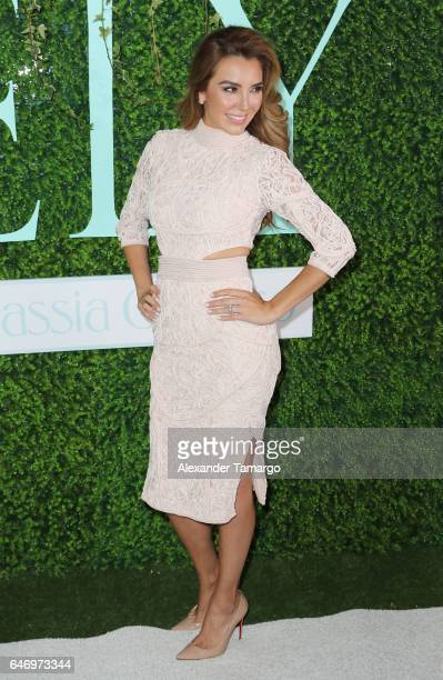 Elizabeth Gutierrez is seen at her ELY Skin Care Line launch event at the SLS Brickell on March 1 2017 in Miami Florida