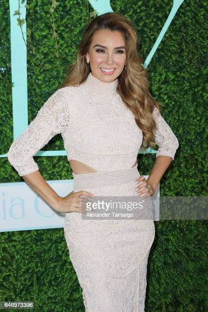 "Elizabeth Gutierrez is seen at her ""ELY"" Skin Care Line launch event at the SLS Brickell on March 1, 2017 in Miami, Florida."