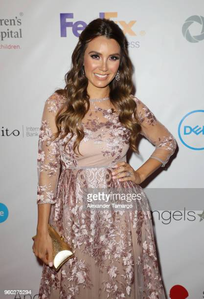 Elizabeth Gutierrez is seen at the 16th Annual FedEx/St Jude Angels Stars Gala on May 19 2018 in Miami Florida