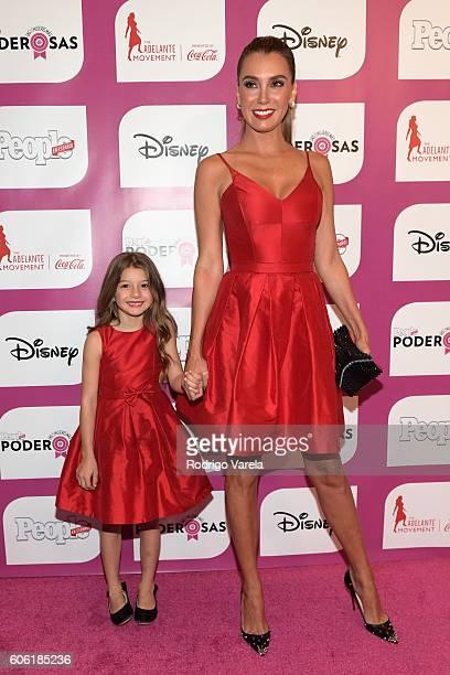 Elizabeth Gutiérrez and Kailey Alexandra Levy attend People En Espanol Celebrates Las 25 Mujeres Mas Poderosas at The RitzCarlton Coconut Grove on...