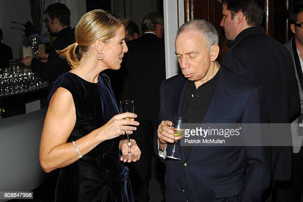 Elizabeth H. Hughes and Si Newhouse attend CONDE NAST TRAVELER Readers' Choice Awards & 20TH Anniversary Party at Cooper-Hewitt National Design...