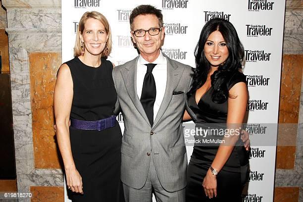 Elizabeth H Hughes Bruce Himelstein and Amy Eslami attend CONDE NAST TRAVELER Hosts Acclaimed Readers' Choice Awards Inside Backstage at New York...