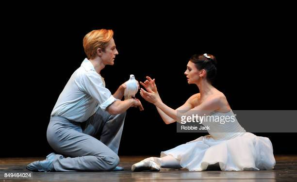 Elizabeth Harrod and Steven McRae in the Royal Ballet's production The Two Pigeons at Hull New Theatre on September 15 2017 in Hull England
