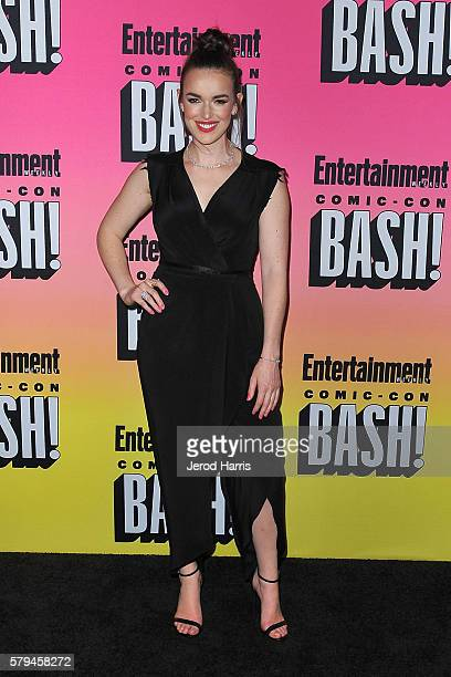 Elizabeth Henstridge arrives at Entertainment Weekly's Annual ComicCon Party at Float at Hard Rock Hotel San Diego on July 23 2016 in San Diego...