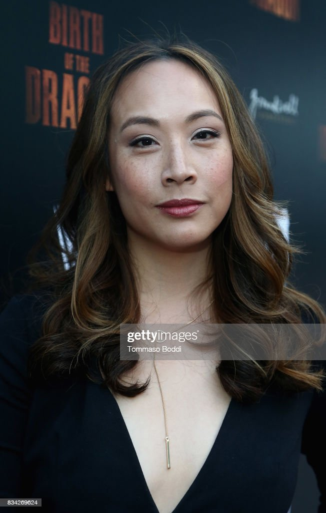 Elizabeth Ho attends the Premiere Of WWE Studios' 'Birth Of The Dragon' at ArcLight Hollywood on August 17, 2017 in Hollywood, California.