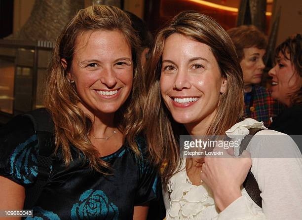 Elizabeth Holzman and Crista Vaighi during Saks Fifth Avenue's Opening of The Graff Boutique Hosted by Town and Country at Saks Fifth Avenue in New...