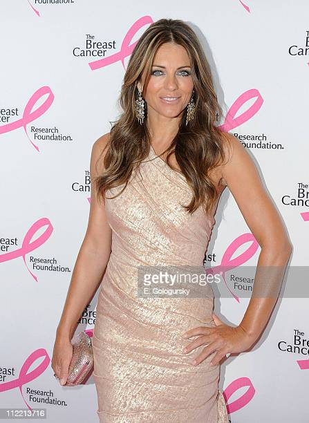 Elizabeth Hurley arrives to the 2011 Breast Cancer Research Foundation's Hot Pink Party at The Waldorf Astoria on April 14 2011 in New York City