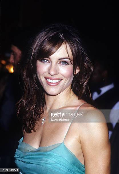 Elizabeth Hurley at premiere of 'Mickey Blue Eyes' New York August 11 1999