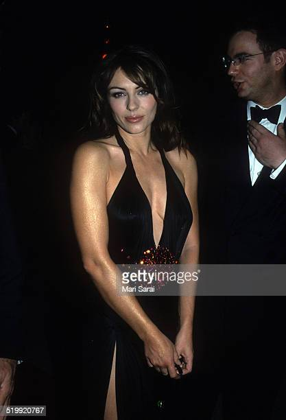 Elizabeth Hurley at the Metropolitan Museum's Costume Institute gala exhibition New York New York December 6 1999