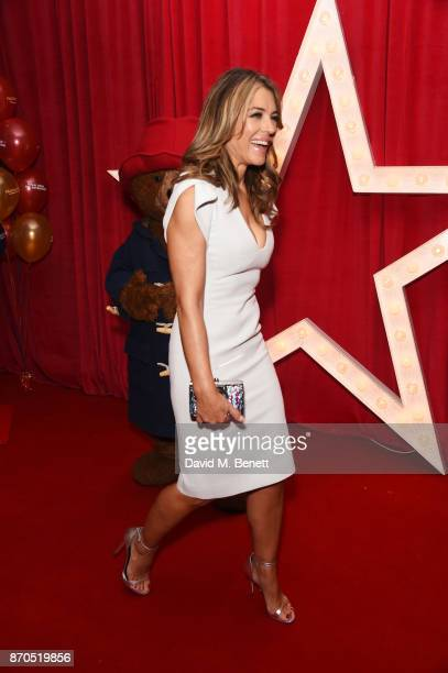 Elizabeth Hurley attend the World Premiere of 'Paddington 2' at Odeon Leicester Square on November 5 2017 in London England
