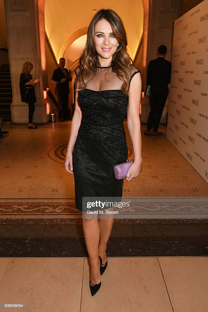 "Alexandra Shulman And Leon Max Host The Opening Of ""Vogue 100: A Century Of Style"" At The National Portrait Gallery"