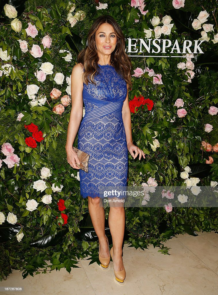 Elizabeth Hurley attends a Queenspark breakfast to celebrate the brand's Summer 2013 collection on November 8, 2013 in Sydney, Australia.