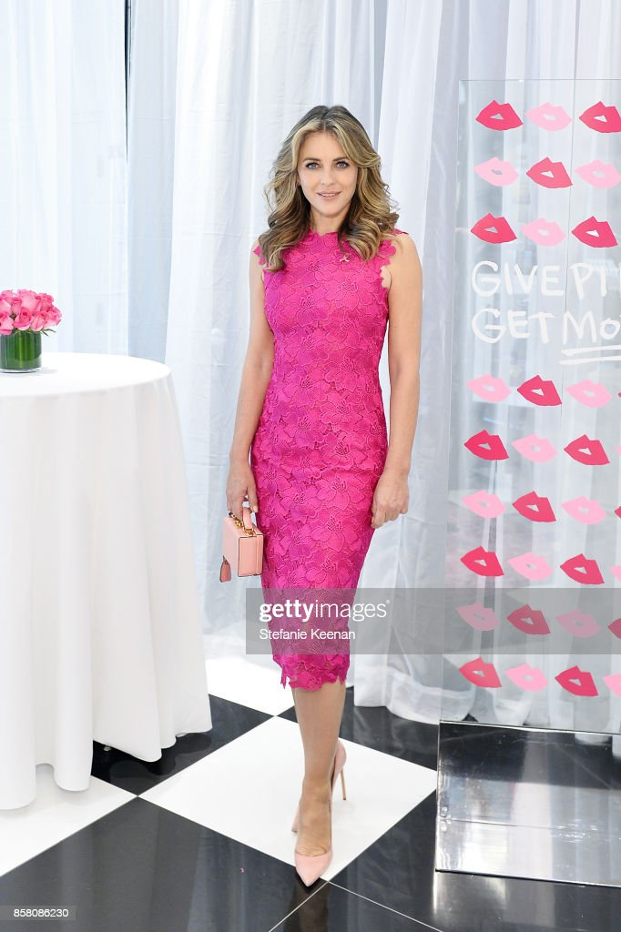 Bloomingdale's Century City Appearance by Elizabeth Hurley, Global Brand Ambassador for the Estee Lauder Companies' Breast Cancer Campaign