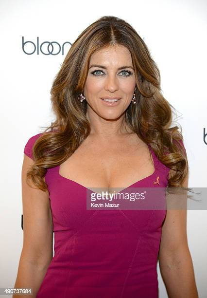 Elizabeth Hurley attends Bloomingdales's Kicks off Breast Cancer Awareness Month with Pink Party Hosted by The Estee Lauder Companies' Breast Cancer...
