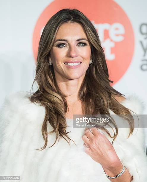 Elizabeth Hurley attends Centrepoint At The Palace at Kensington Palace on November 10 2016 in London England
