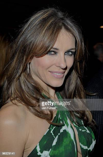 Elizabeth Hurley attends the A Single Man film premiere at the Curzon Mayfair on February 1 2010 in London England
