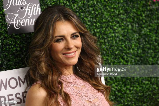 Elizabeth Hurley attends the An Unforgettable Evening held at the Beverly Wilshire Four Seasons Hotel on February 16, 2017 in Beverly Hills,...
