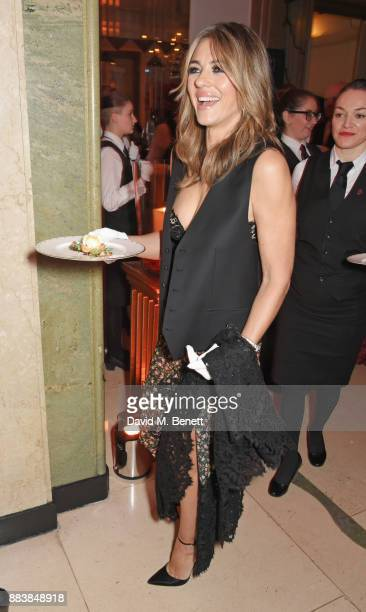 Elizabeth Hurley attends the BOVET 1822 Brilliant is Beautiful Gala benefitting Artists for Peace and Justice's Global Education Fund for Women and...