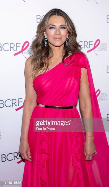 Elizabeth Hurley attends the Breast Cancer Research Foundation 2019 Hot Pink Party at Park Avenue Armory Manhattan