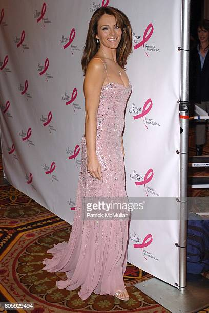 Elizabeth Hurley attends The Breast Cancer Research Foundation Presents 'The Very Hot Pink Party' at The Waldorf Astoria on April 10 2006 in New York...