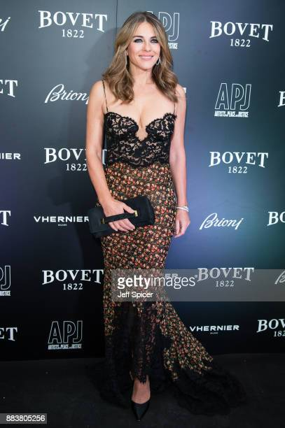 Elizabeth Hurley attends the 'Brilliant Is Beautiful' gala held at Claridge's Hotel on December 1 2017 in London England