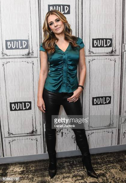 Elizabeth Hurley attends the Build Series to discuss the new season of 'The Royals' at Build Studio on March 7 2018 in New York City